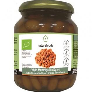 Feijão Manteiga Cozido Bio 360gr Naturefoods