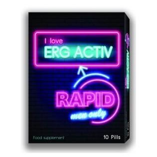 Erg Activ Rapid 10 comprimidos Phytogold