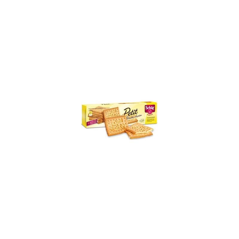Schar Bolacha Sem Glúten Petit Biscoito Classico 165gr