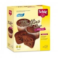 Schar Queques Sem Glúten Muffins Choco 260gr