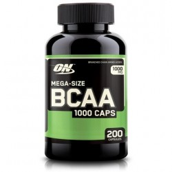 BCAA 1000 200 cápsulas  Optimum Nutrition