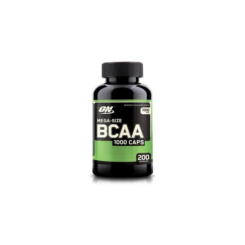 BCAA 1000 200 cápsulas  Optimum Nutrition