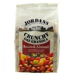 Jordans Crunchy Oat Granola Uvas + Amendoas 850gr