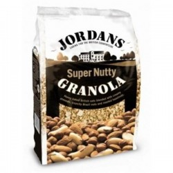 Jordans Supernutty Granola (Frutos Secos) 600gr