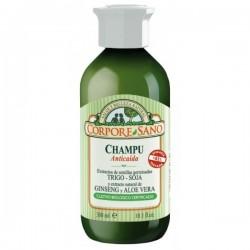 Corpore Sano Champô Antiqueda Trigo + Soja + Ginseng + Aloe 300ml