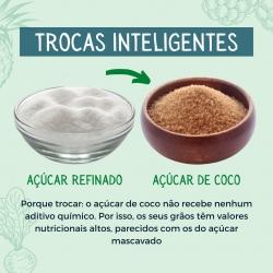 🥕 TROCAS INTELIGENTES 🥕  Trocar o açúcar refinado pelo açúcar de coco! :) ⠀⠀⠀⠀⠀⠀⠀⠀⠀⠀ O açúcar de coco é delicioso, doce e natural. Experimente! 😝  ⠀⠀⠀⠀⠀⠀⠀⠀⠀⠀ #energiaemequilibrio #bemestar #trocassaudaveis #vidasaudavel #dicasalimentos #produtosnaturais #produtosorganicos #produtosbiologicos #aveiro #lojaonline #nutricaometabolica